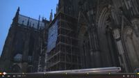 Occupation on the Cathedral, Cologne, Nov 23th 2014